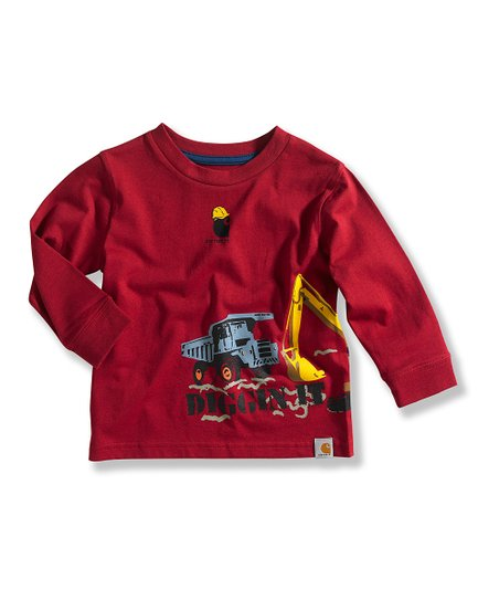 Medium Red Truck Tee - Toddler