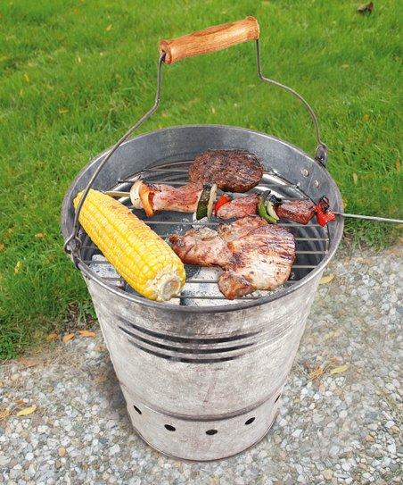 Grill Fire Bucket