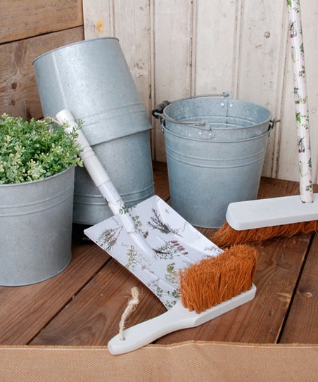 Four-Compartment Bucket/Planter - Set of Four