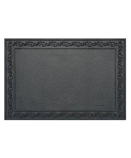 Black Basic Doormat Tray