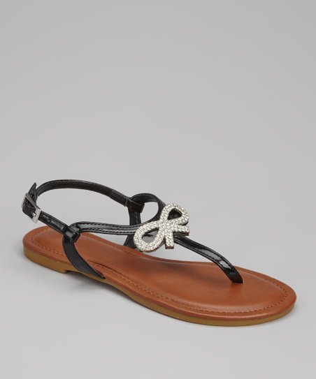 Black Patent Madalyn-08K Sandal