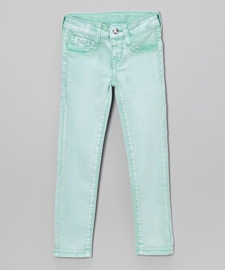 Cool Mint Jeggings - Girls