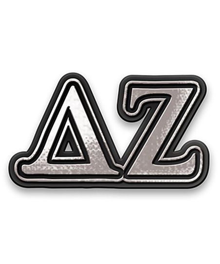 Delta Zeta Chrome Car Emblem