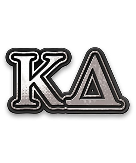 Kappa Delta Chrome Car Emblem