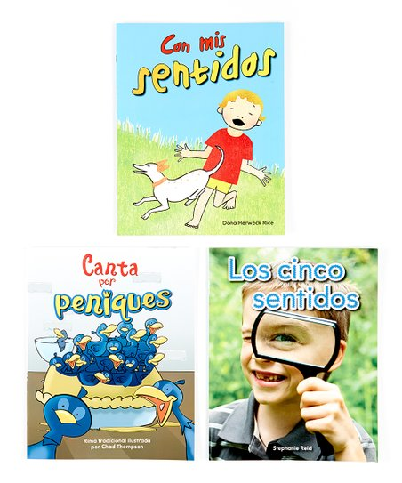 Five Senses Spanish Lap Book Set
