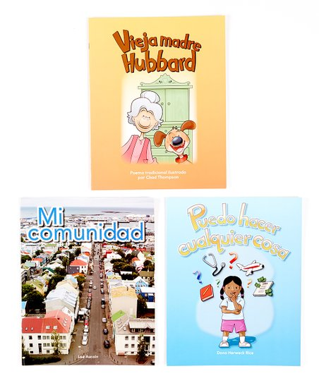 My Community Spanish Lap Book Set