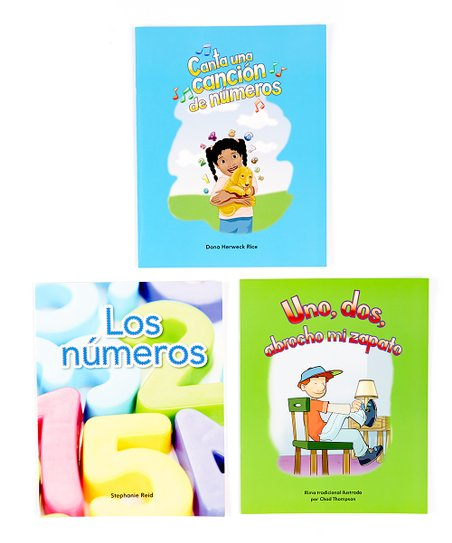 Numbers Spanish Lap Book Set