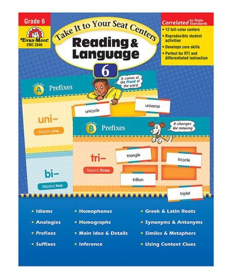 Take It to Your Seat Grade 6 Reading & Language Paperback
