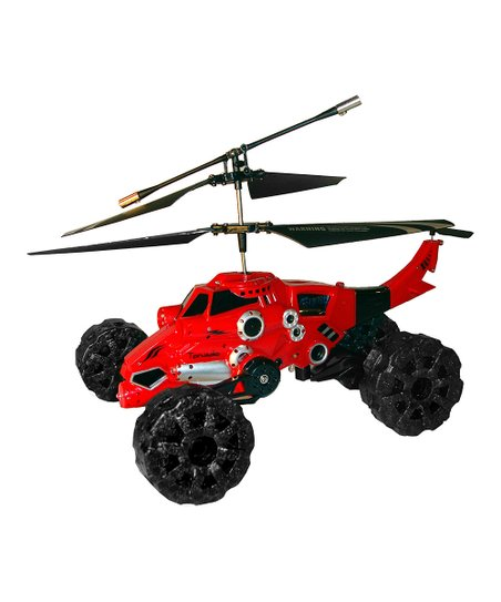 Red 3-in-1 Remote Control Helicopter