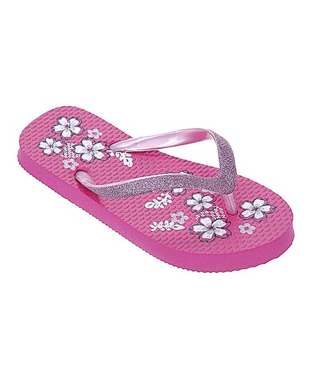 Pink Sparkle Flip-Flop - Girls