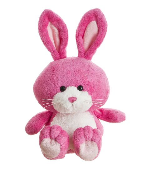 Hot Pink Whimsy Bunny Plush Toy