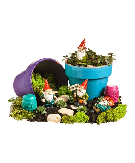 Classic Gnome Mini Figurine Set