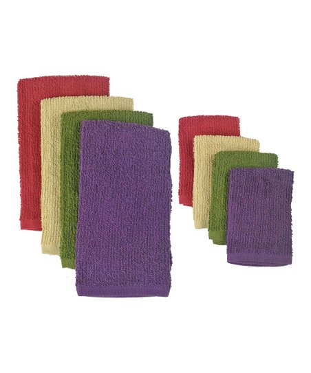 Urban Terry Bar Mop Dish Towel & Dishcloth Set