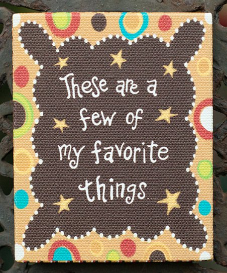 'My Favorite Things' Magnet