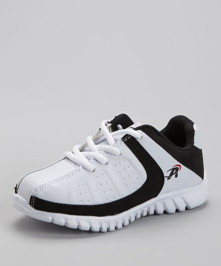 White & Black 715 Running Shoe