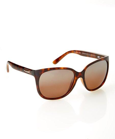 Brown & Black Tortoise Classic Sunglasses