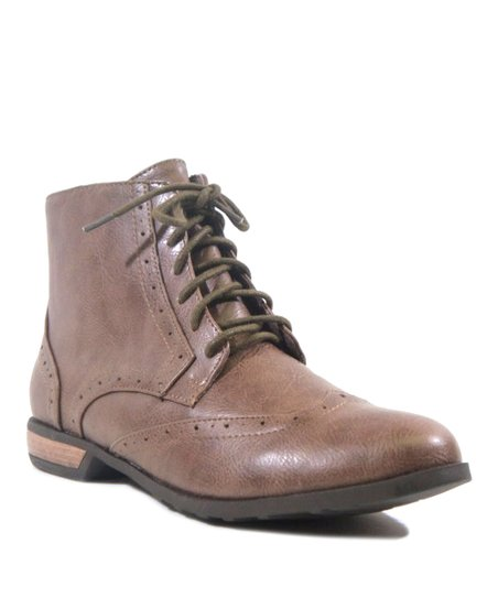 Taupe Basta Ankle Boot