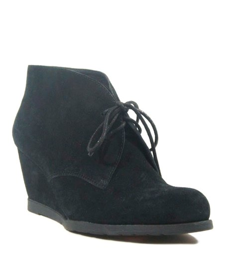 Black Sorority Suede Bootie