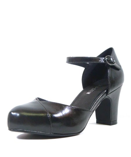 Black Trisha Pump
