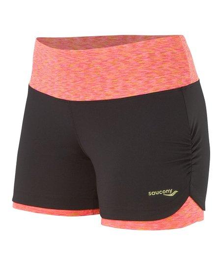 Black & ViZiPRO Coral Ruched LX Shorts - Women