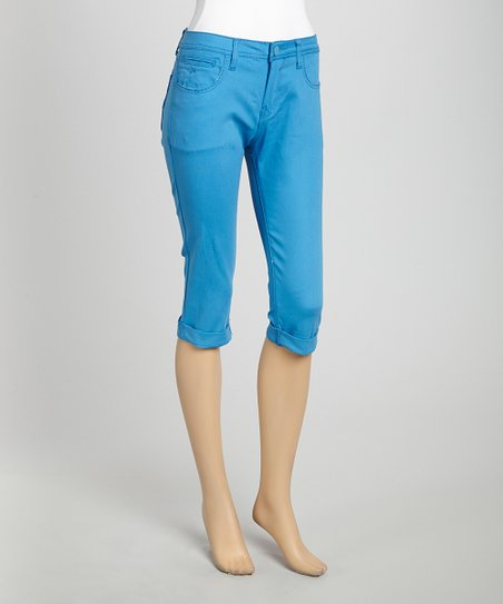 Pacific Blue Capri Pants