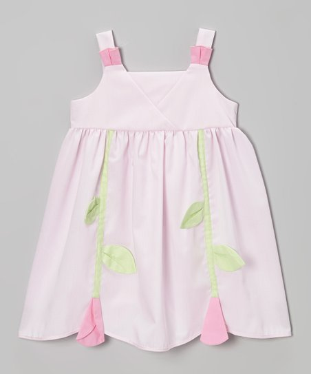 Pink Tulip Babydoll Dress – Infant, Toddler & Girls