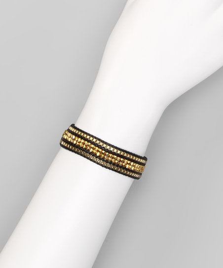Gold Stripe Bracelet