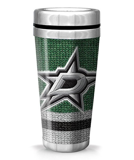 Dallas Stars Full-Wrap Woolie Travel Mug