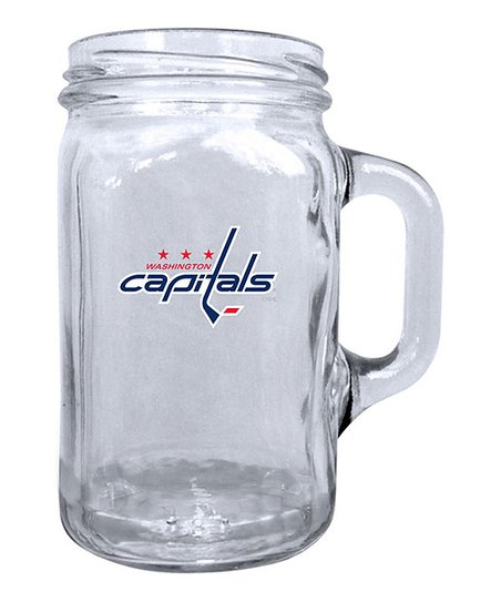 Washington Capitals Mason Jar Mug