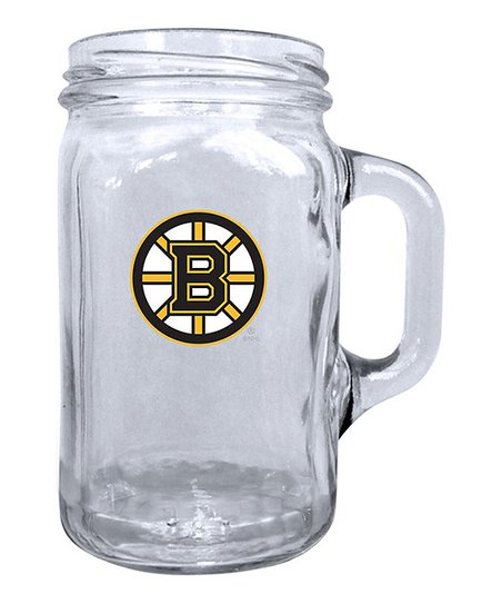 Boston Bruins Mason Jar Mug