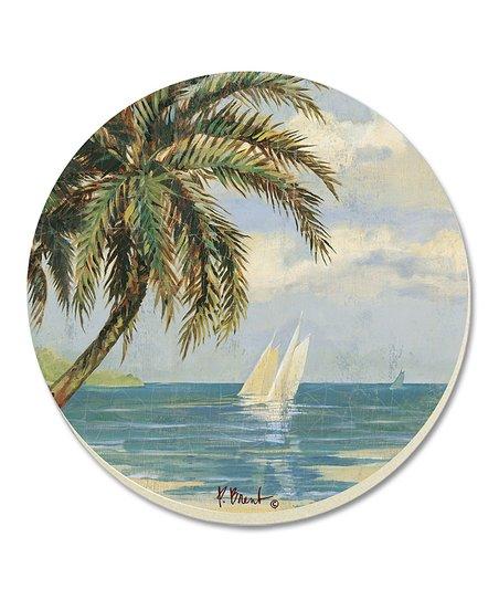 Palm Bay Coaster - Set of Four