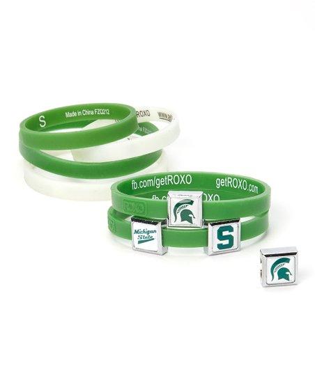 Michigan State Spartans 10-Piece Charm Bracelet Set