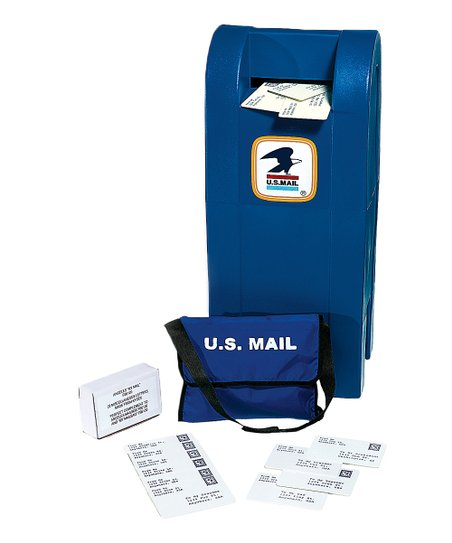 Blue Mail Box Set