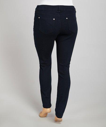 Midnight Denim Pants – Plus