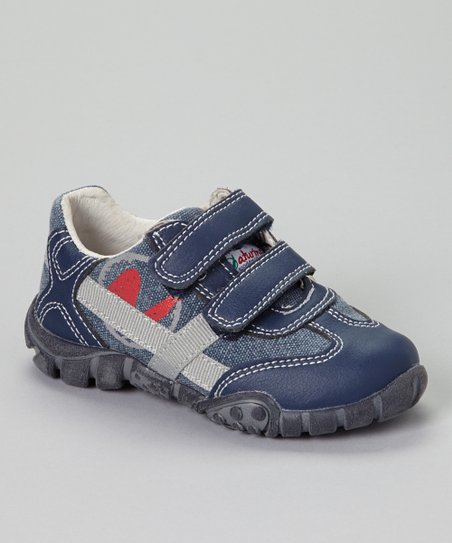 Blue Sprint Tela Sneaker