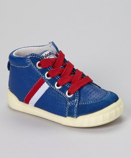 Blue Vitello Sneaker