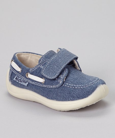 Blue & White Tela Loafer