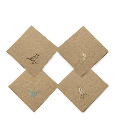 Bird Nest Linen Napkin Set