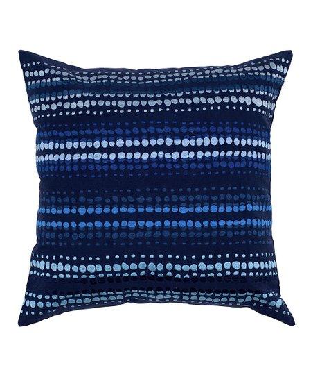 Indigo Blue Throw Pillow