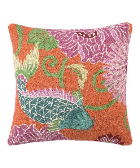 Koi II Wool-Blend Pillow