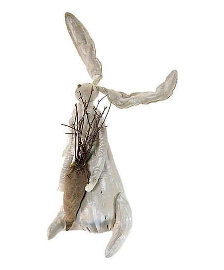 Bernard the Bunny & Carrot Figurine