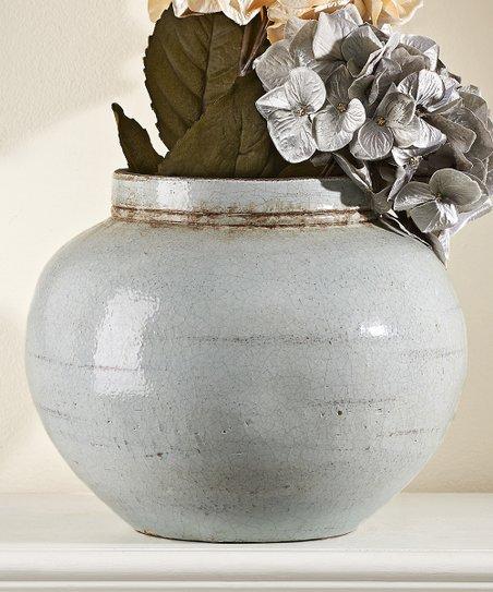 Small Cornflower Ceramic Vase