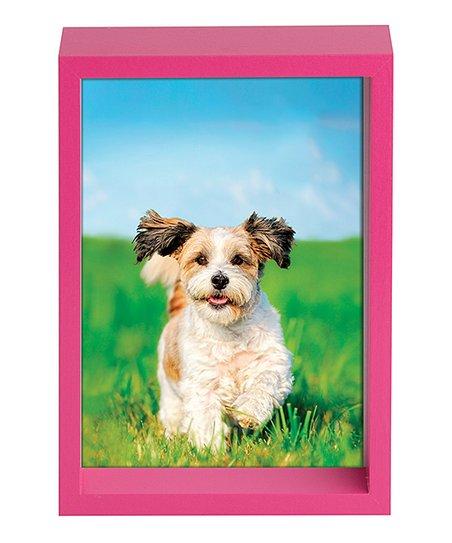 Vista Pink Shadowbox Frame
