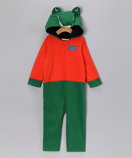 MascotWear Green Florida Fleece Playsuit - Infant & Kids