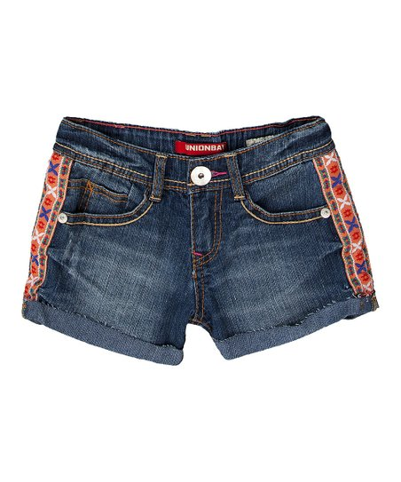 Chrome Blue Gina Denim Shorts