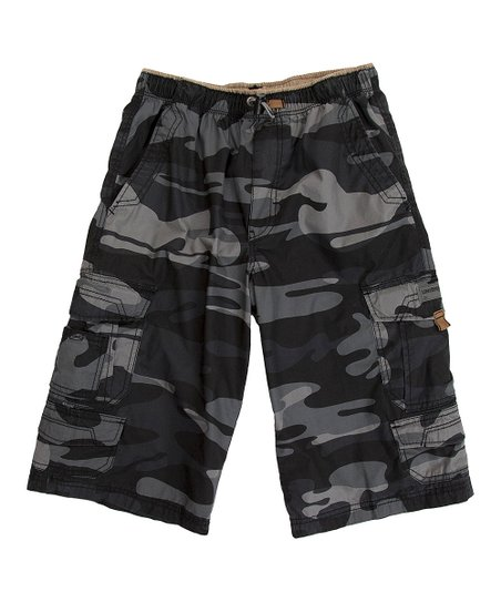 Smokey Camo Brooks Cargo Shorts - Toddler & Boys