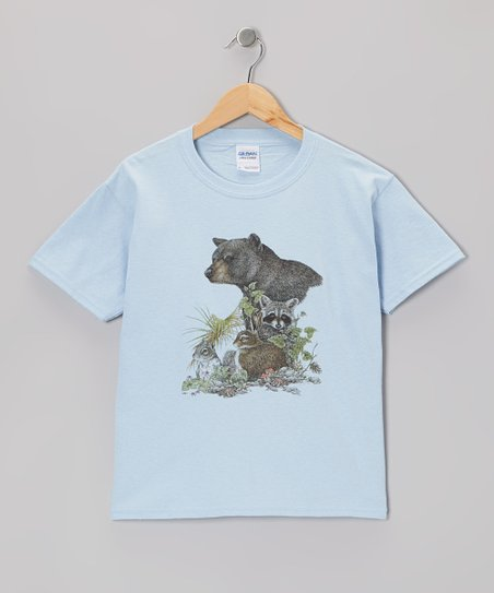 Blue Forest Friends Tee - Toddler & Kids