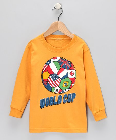 Golden Rod 'World Cup' Organic Tee - Boys