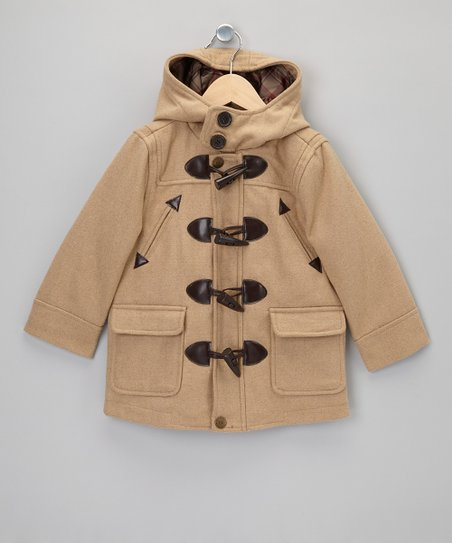 Camel Toggle Jacket - Boys