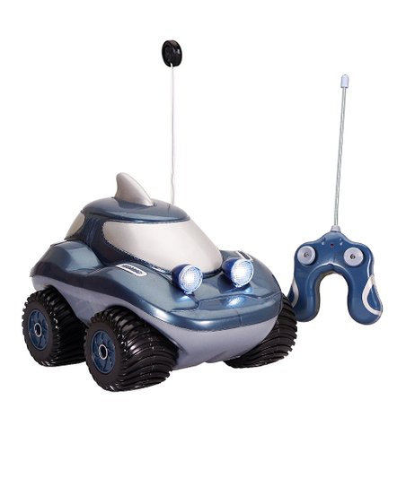 Blue Land Shark Morphibian Remote Control Car